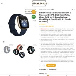 Buy Smartwatch for Health & Fitness Online
