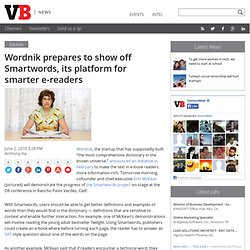 Wordnik prepares to show off Smartwords, its platform for smarte