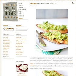 Smashed Avocado-Chile Tartines