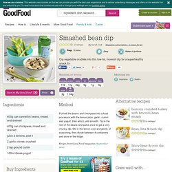 Smashed bean dip recipe