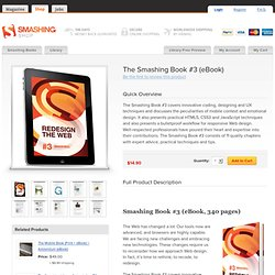 The Smashing Book #3 (eBook) Redesign The Web