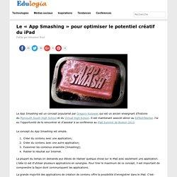 Le « App Smashing » pour optimiser le potentiel créatif du iPad