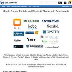 How to Publish on Smashwords