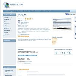 SMF version 2.0.6 Demo