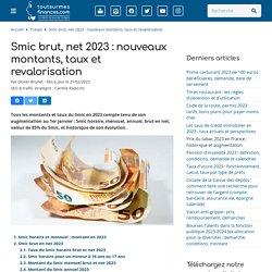 Smic brut, net 2016-2017 : montants, taux et revalorisation