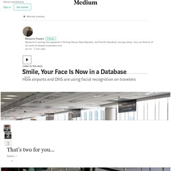 Smile, Your Face Is Now in a Database – Benjamin Powers