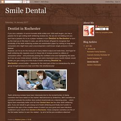 Smile Dental: Dentist in Rochester