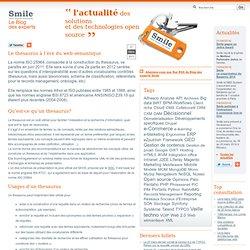 Blog Le thesaurus à l'ère du web sémantique