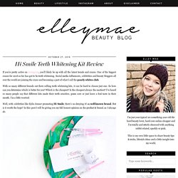 Hi Smile Teeth Whitening Kit Review