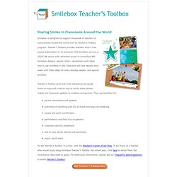 Teacher's Toolbox - Information Page