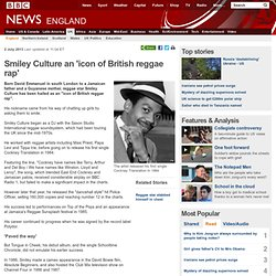 Smiley Culture an 'icon of British reggae rap'