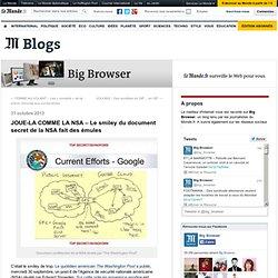 JOUE-LA COMME LA NSA – Le smiley du document secret de la NSA fait des émules
