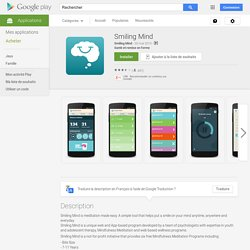 Smiling Mind – Applications Android sur Google Play