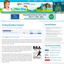 Smiling Buddha Cabaret » Vancouver Blog Miss604
