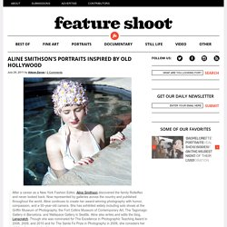 Aline Smithson's portraits inspired by old Hollywood