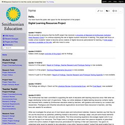 smithsonian-digital-learning - home