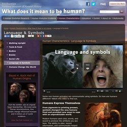 Language & Symbols