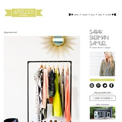 smitten studio // sarah sherman samuel » Blog Archive » DIY garment rack