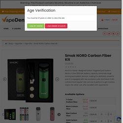 Smok NORD Carbon Fiber Kit