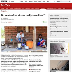 Do smoke-free stoves really save lives?