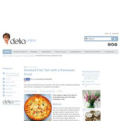 Smoked Fish Tart with a Parmesan Crust - Picnic Recipes