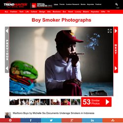 Boy Smoker Photographs : MARLBORO BOYS