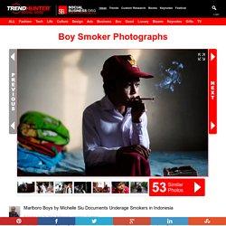 Boy Smoker Photographs : MARLBORO BOYS