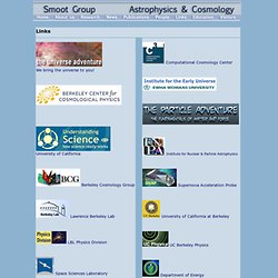 Smoot Cosmology Group