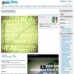 Smooth Head Rotation