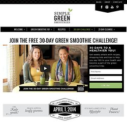 30-Day Green Smoothie Challenge!