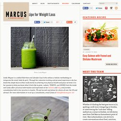 Green Smoothie Recipe for Weight Loss?