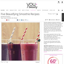 Smoothie Recipes for Skin