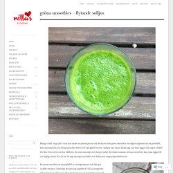 Gröna Smoothies – flytande solljus