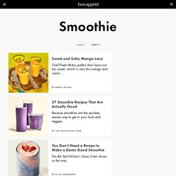 Why smoothies aren't healthy (and how to make one that is): Conscious Cook