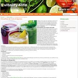 Smoothies de fruits et légumes / Articles santé