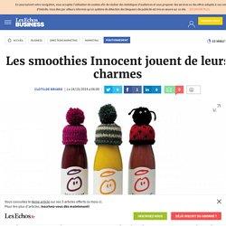 Les smoothies Innocent jouent de leurs charmes, Positionnement