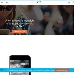 Envoyer un SMS pro par internet, email ou via notre API