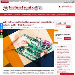 SMT Assembly Manufacturing - PCB Assembly Company USA - Technotronix
