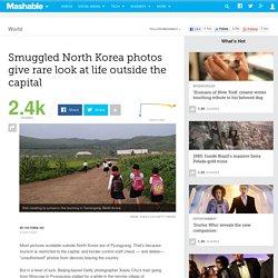 Smuggled North Korea photos give rare look at life outside the capital