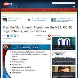 Meet the 'Spy Smurfs': Here's how the NSA, GCHQ target iPhones, Android devices