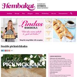 Snabb picknickkaka