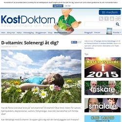 Snabbkurs i D-vitamin