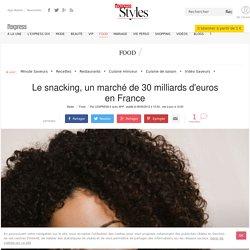 Le snacking, un marché de 30 milliards d'euros en France - L'Express Styles