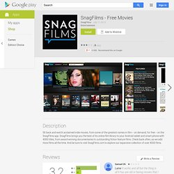 SnagFilms - Apps on Android Market