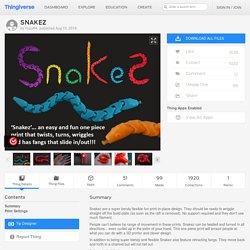 SNAKEZ by muzz64