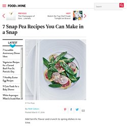7 Snap Pea Recipes You Can Make in a Snap