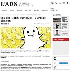 Snapchat : conseils pour des campagnes réussies - Etude Marketing
