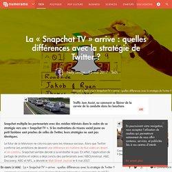La « Snapchat TV » arrive : quelles différences avec la stratégie de Twitter ? - Tech