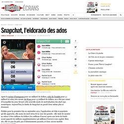 Snapchat, l'eldorado des ados