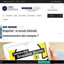 Snapchat, le nouvel eldorado des marques